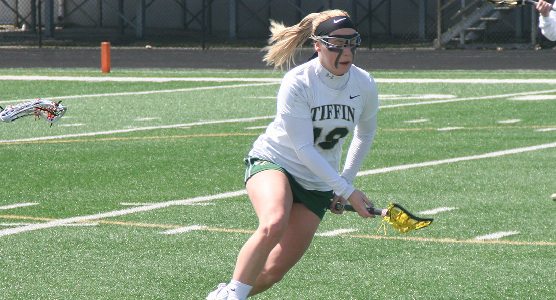 Maddy Batley had 3 goals as the Dragons fell to Indianapolis 16-14.