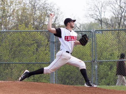 Carroll Pitches Complete Game in 7-1 Win Over Johns Hopkins