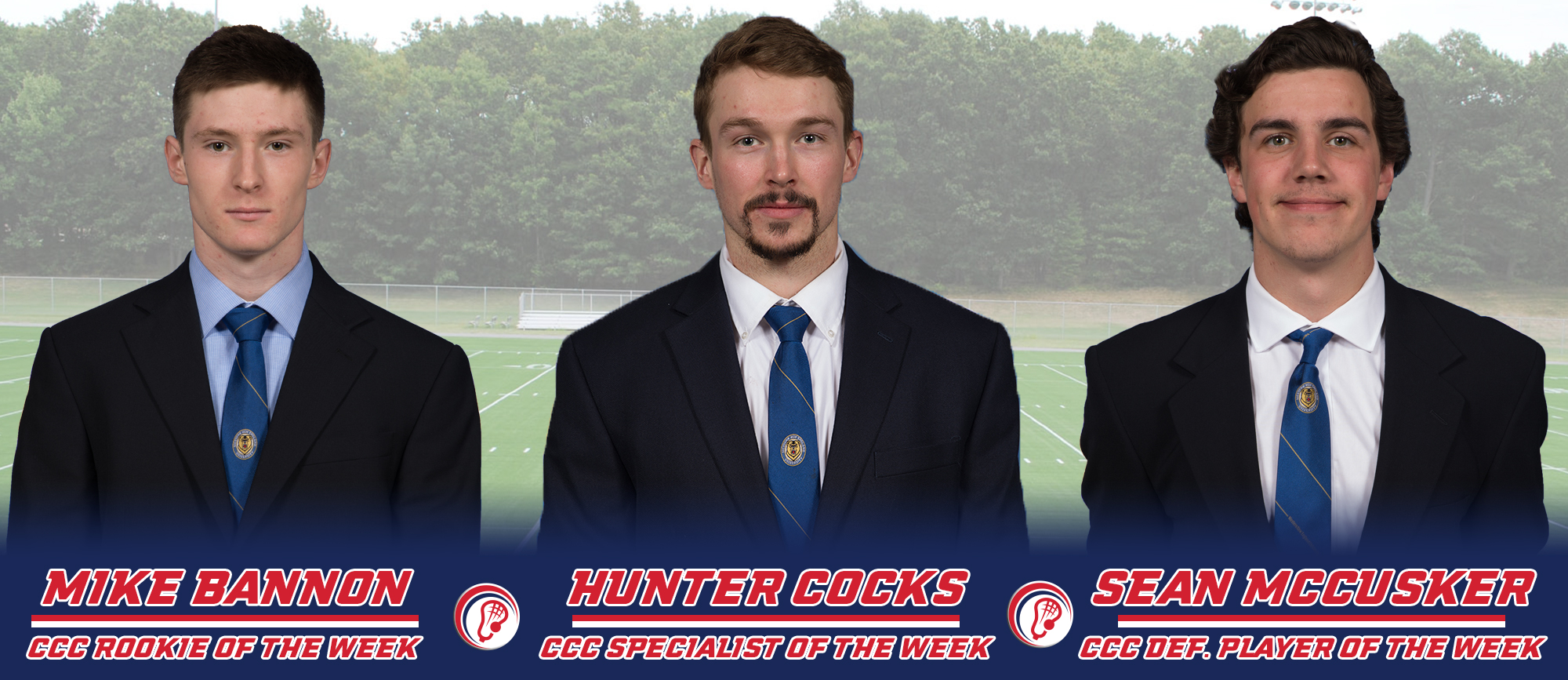 Western New England Trio Receives CCC Weekly Recognition