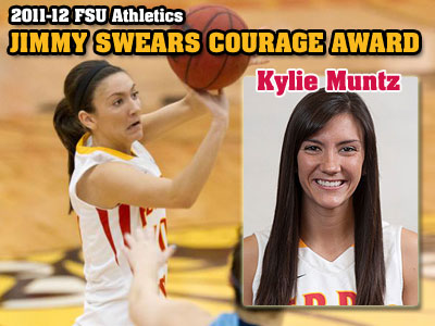 Kylie Muntz Earns Swears Courage Award