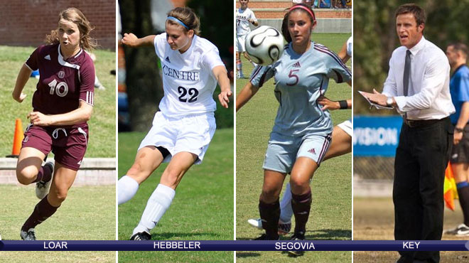 Trinity's Loar; Centre's Hebbeler headline 2011 All-SCAC Women's Soccer voting