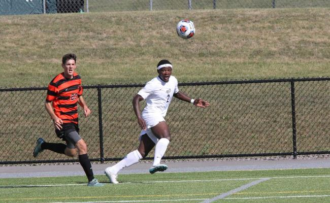 Men's Soccer Play to a 1-1 Draw with SUNY Cobleskill - Keuka