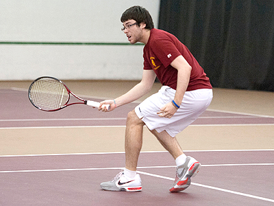 Men's Tennis Earns Key Regional Win