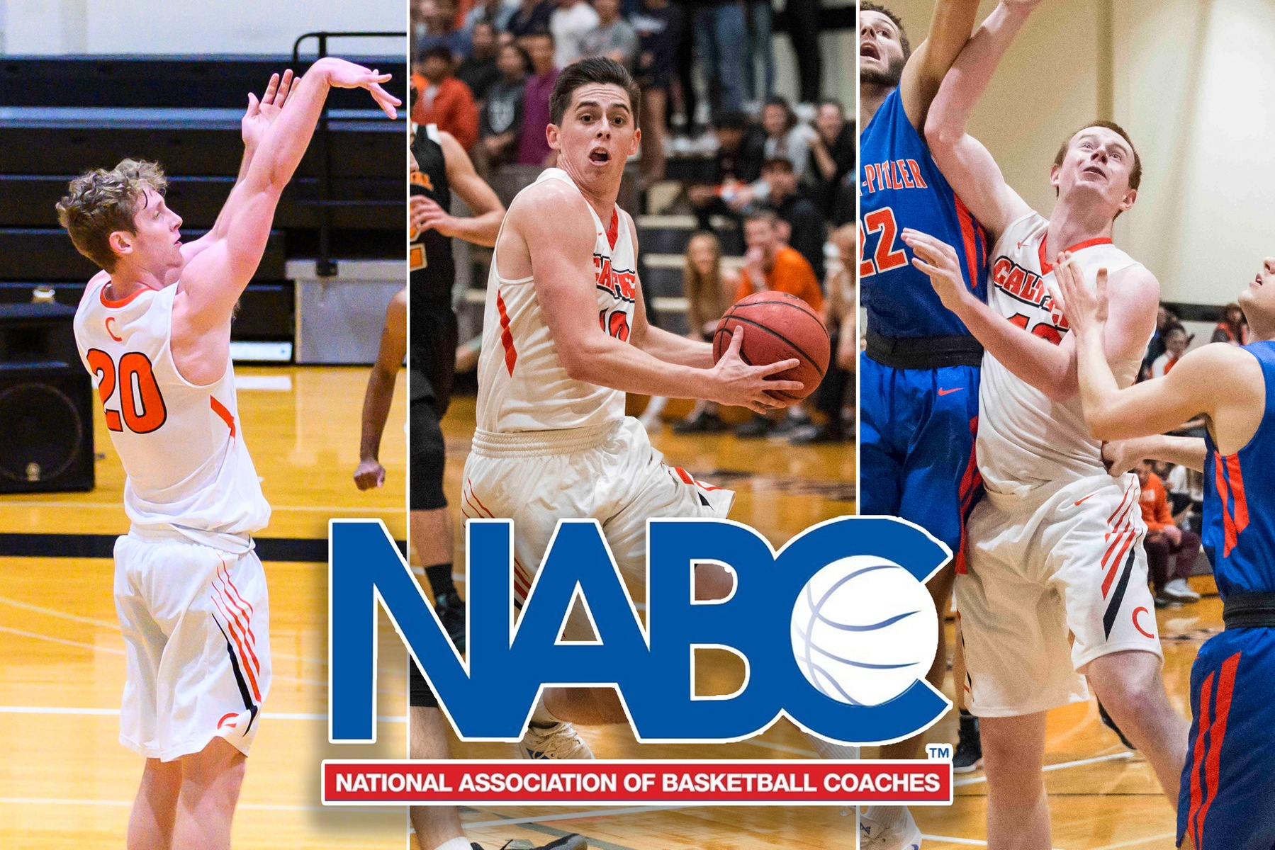 Three Named to NABC Honors Court