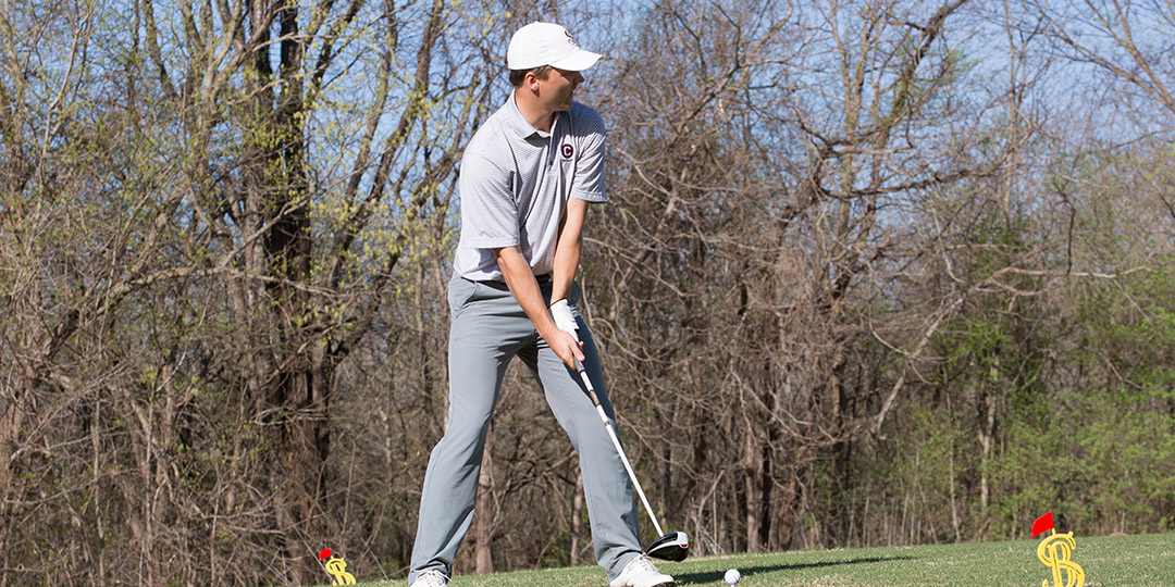 Junior Reed Balcerowicz recorded his third top-10 finish in college and his best three-round total.