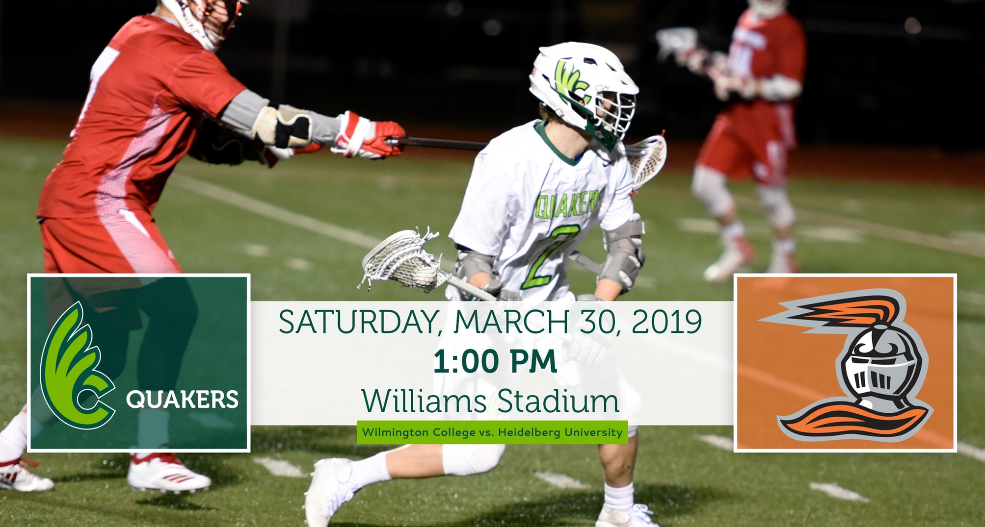 Men's Lacrosse Hosts Heidelberg on Saturday