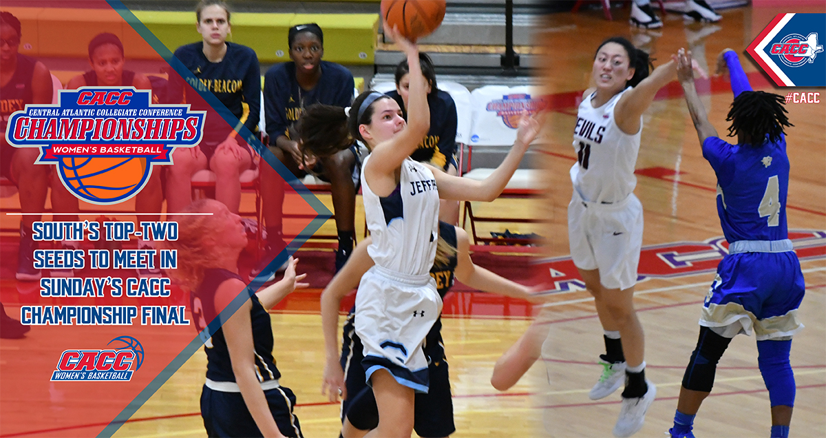 Top Seeds USciences & Jefferson Advance to Sunday's CACC Women's Basketball Championship