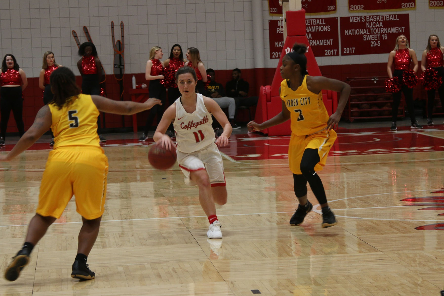 Broncbusters close first semester with win in Coffeyville