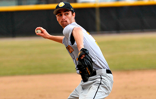 Baseball Snaps Losing Streak, Notches First-Ever win Over Bridgewater State