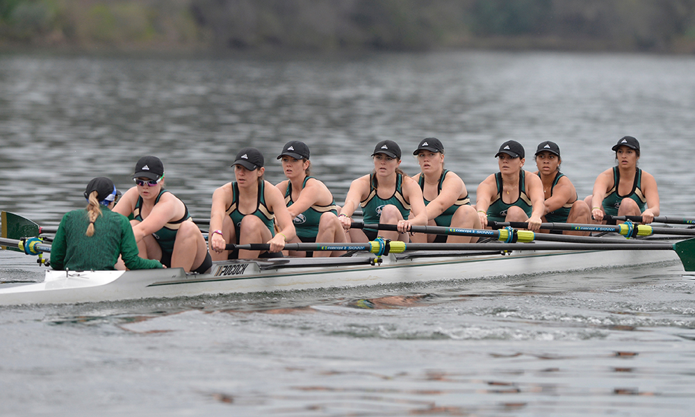 ROWING'S SECOND VARSITY EIGHT CAPTURES AMERICAN BOAT OF THE WEEK HONORS