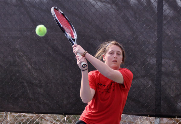 Women's Tennis: Panthers stop William Peace