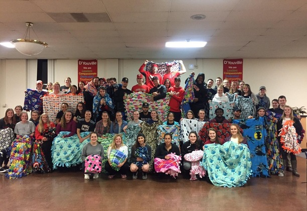 D'Youville Community Comes Together for Project Linus