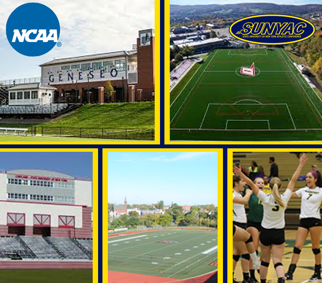 SUNYAC teams selected to host, compete in NCAA playoffs