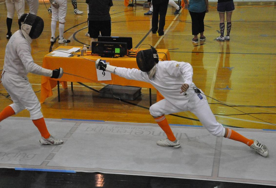 Young Core, Star Leaders Fueling Men's Fencing