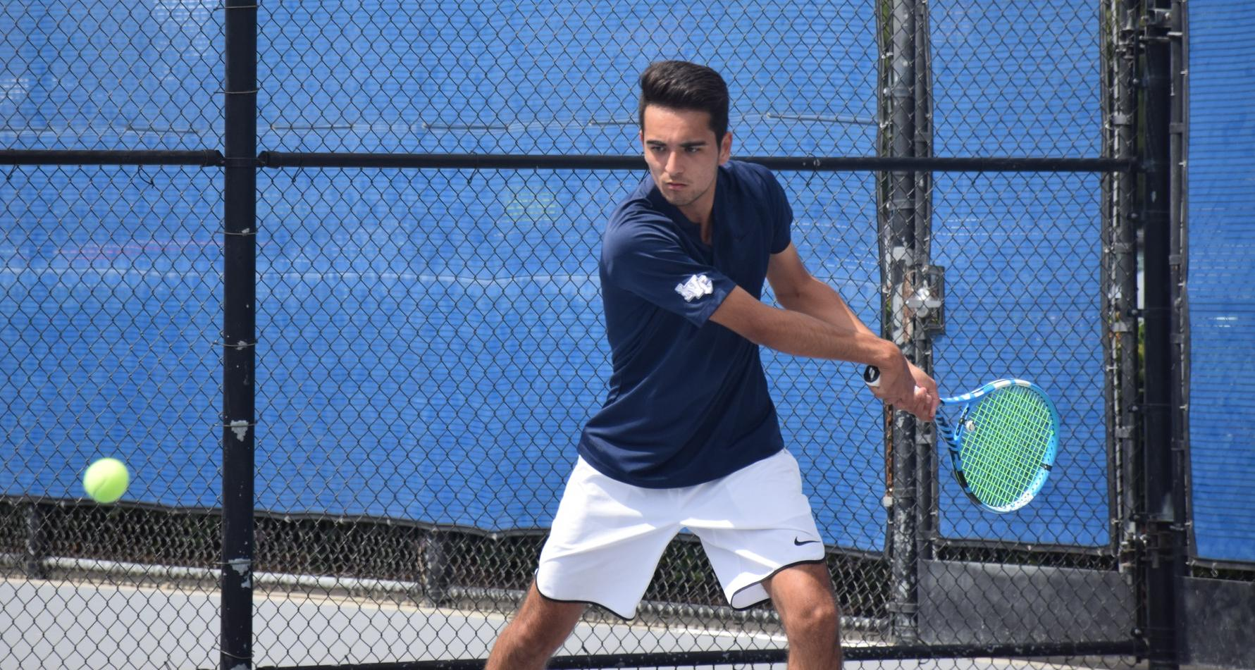 Men's tennis team knocked out of regional playoffs by COD