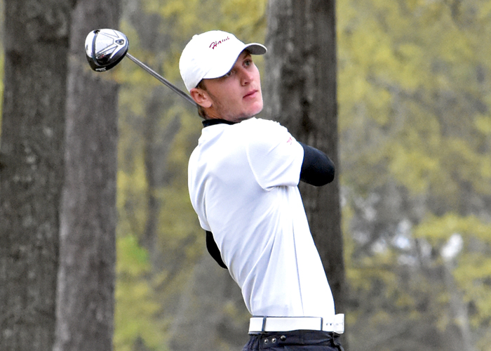 Huntingdon tied for 1st entering final round of Rhodes Fall Classic