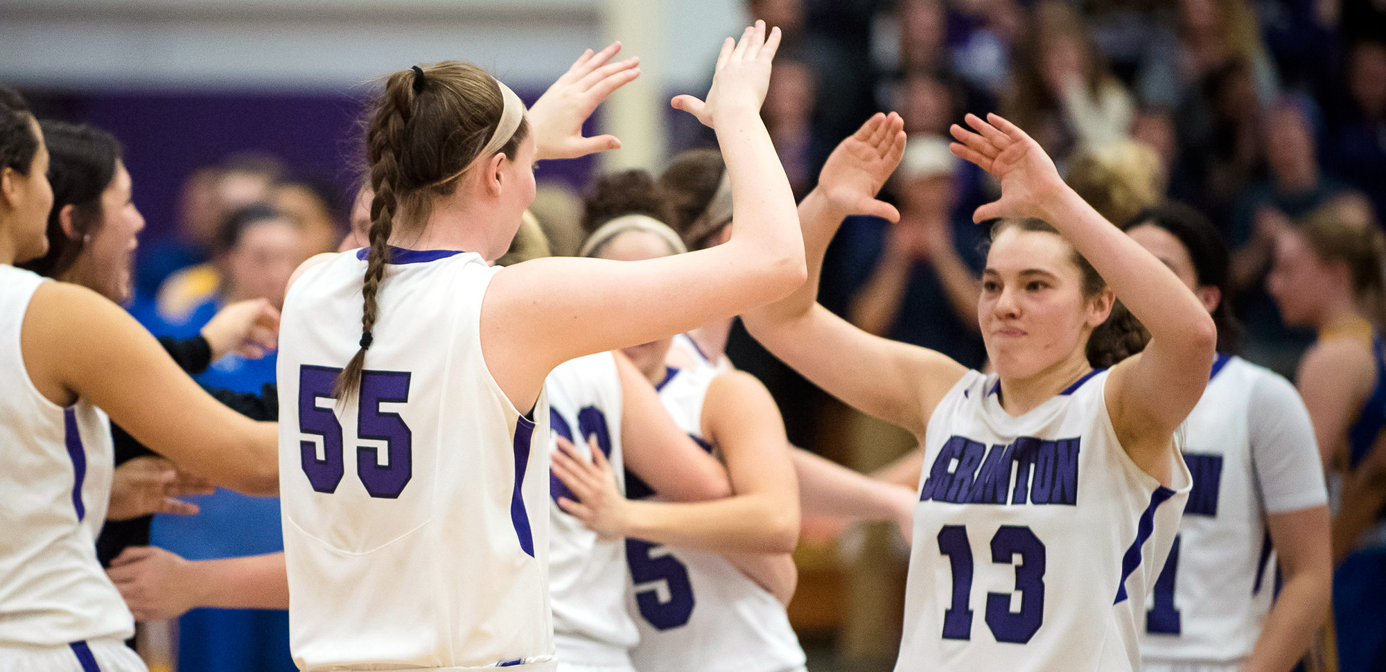 The University of Scranton women's basketball team has appeared 188 times in the D3Hoops.com Top 25 poll since its first release during the 1999-2000 season.