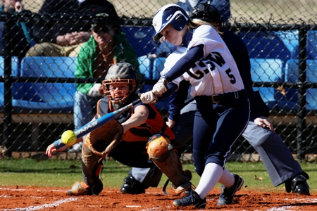 Softball swept at No. 22 Armstrong Atlantic