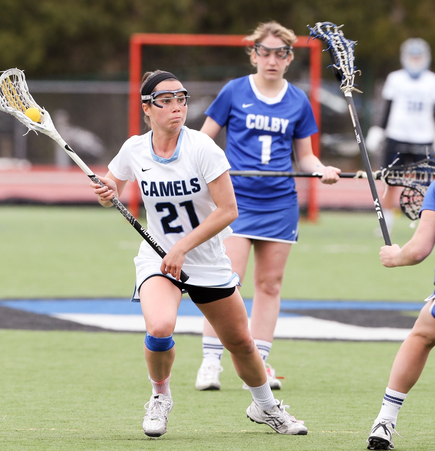 Connecticut College 19 Mount Holyoke 4 Donegan Delivers with 100th Career Point to Lead Camels in Offensive Uprising