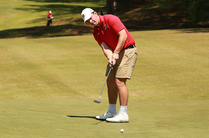 Golf: Panthers fifth after second round of USA South Tournament