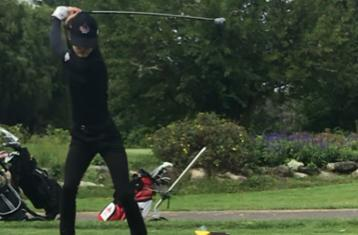 WOMEN'S GOLFER COMPETES AT PENMEN COLUMBUS DAY INVITE