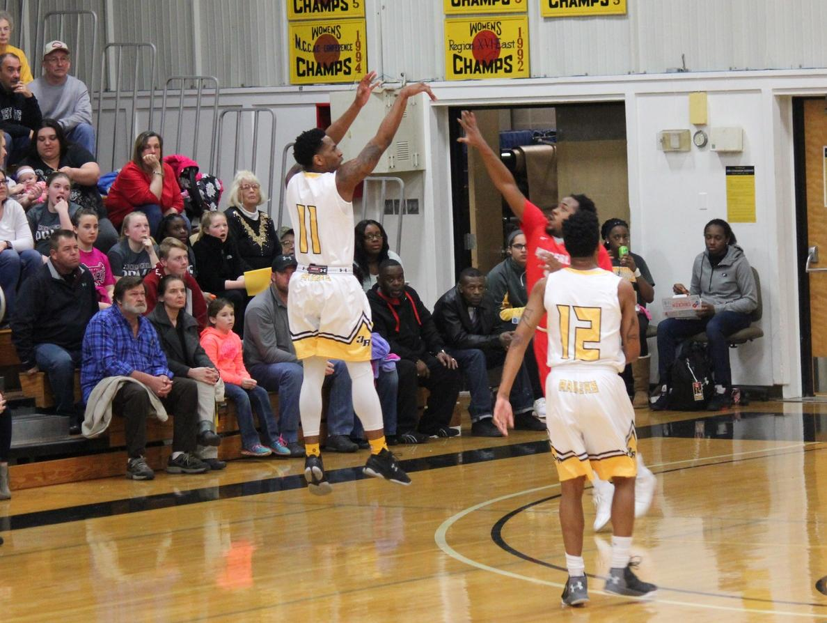 Raiders rally late, but come up short at buzzer