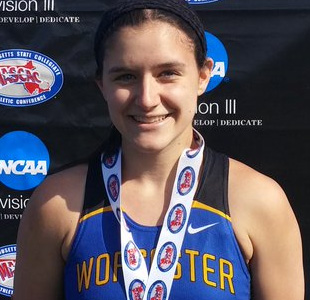 Stephanie McFadries, Worcester State Track and Field