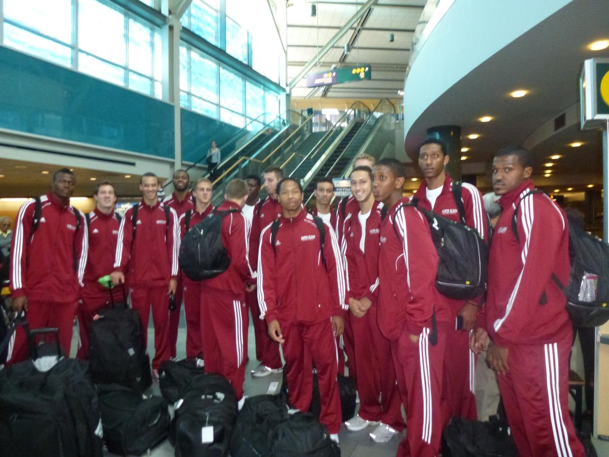 WATCH LIVE! Bronco Basketball Plays First Game on Foreign Tour Tonight at Trinity Western