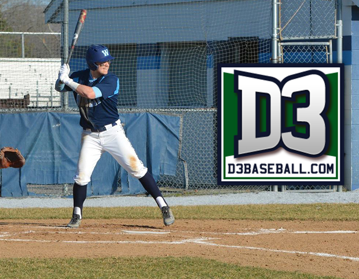 Mears named to D3baseball.com Team of the Week