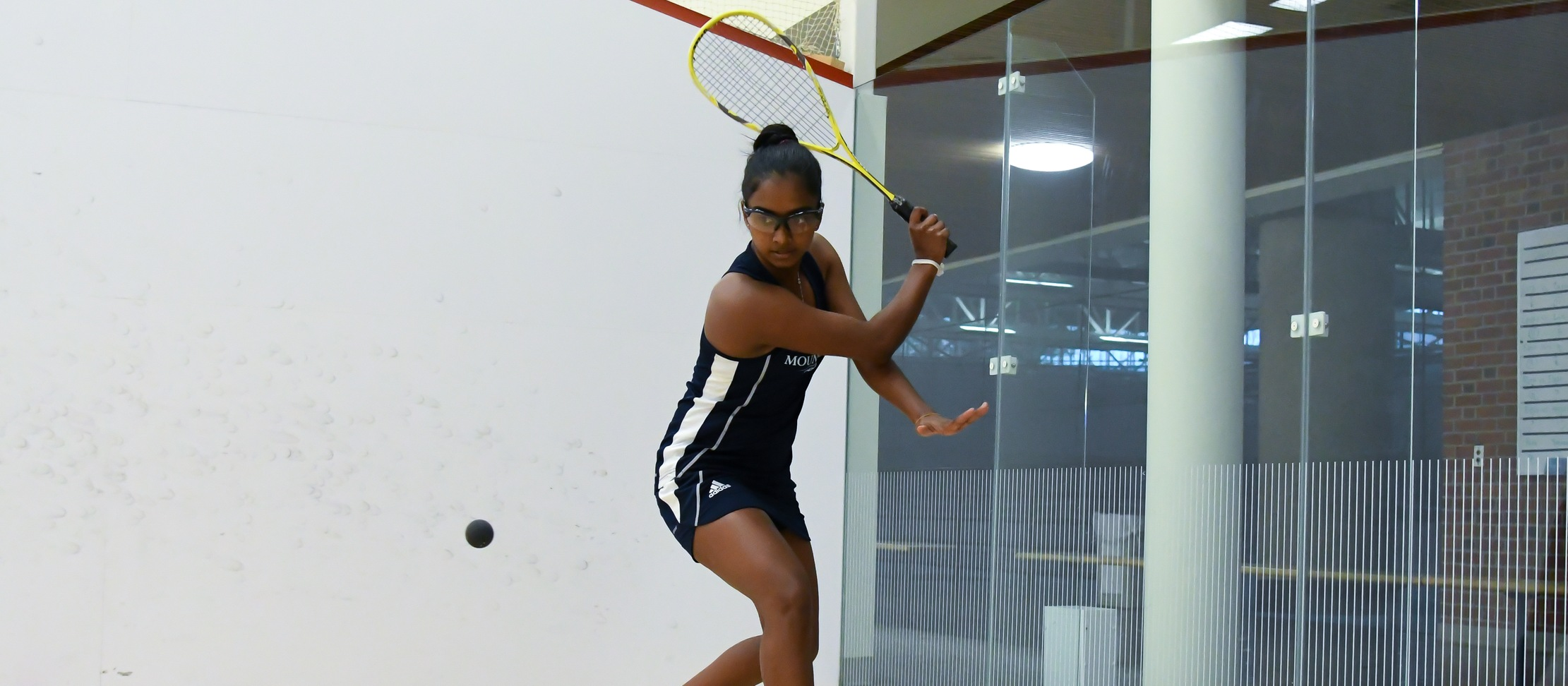 Methsarani Earns Four-Game Victory; Squash Falls to No. 15 Amherst