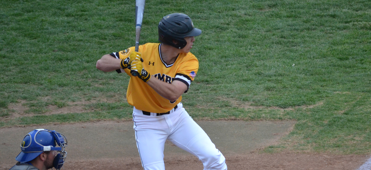Chanin's Complete Game and Steady Offense Leads UMBC Baseball to Split of Doubleheader Against UMass Lowell on Friday