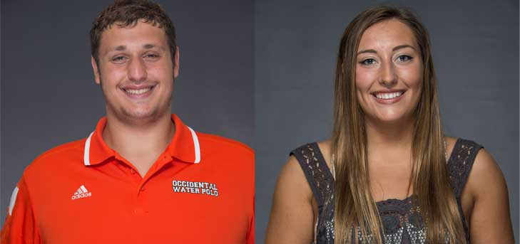 Oxy Swim Teams Compete in First SCIAC Meet