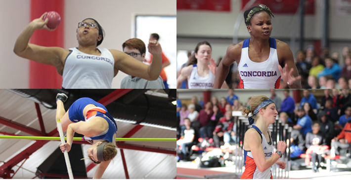 Five individual titles for Women's Track & Field at NACC Indoor Meet