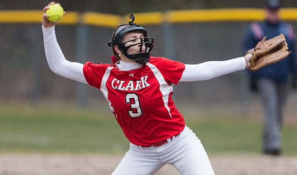 Softball Splits Opening Day with Victory Over Elms