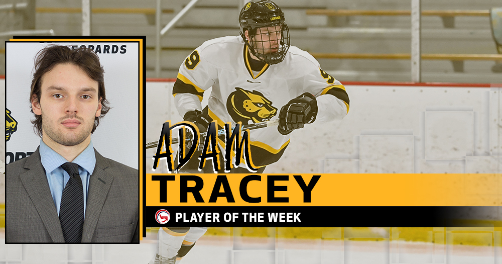 Tracey Earns CCC Player of the Week Honors