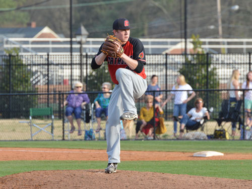 Catholic Pitching Leads Cardinals to Double Header Sweep Over Drew