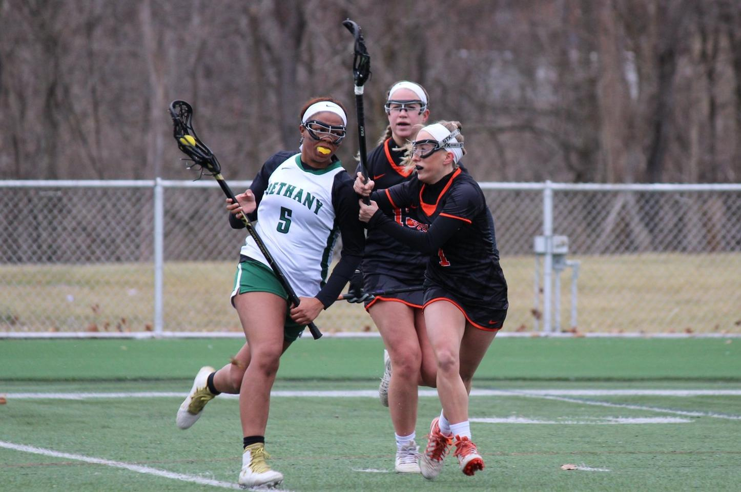 Women's Lacrosse Downed by Goucher