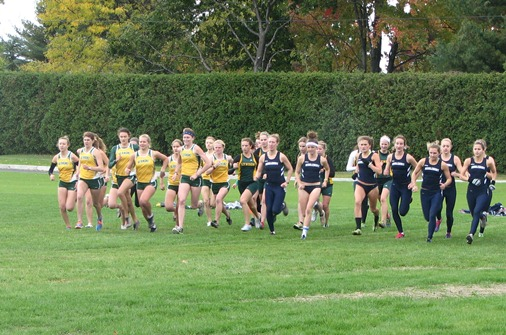 Hornet women set personals at St. Mike's Invitational