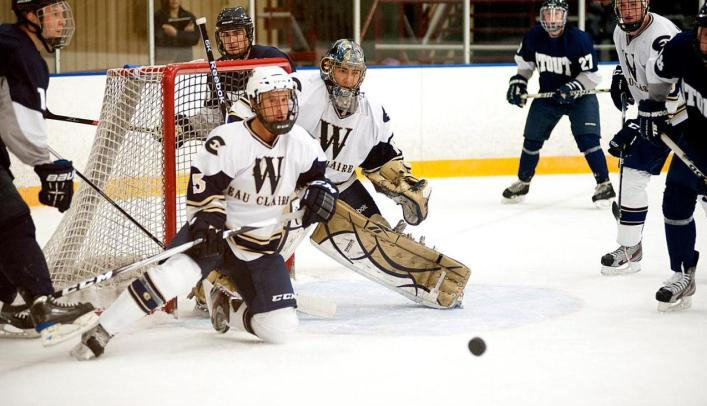Blugolds Remain Unbeaten With Tie in Overtime