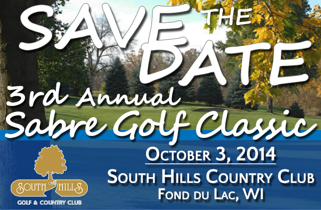 SAVE THE DATE: 3rd Annual Sabre Golf Classic