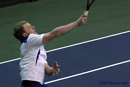 Men's tennis stays perfect in NAC