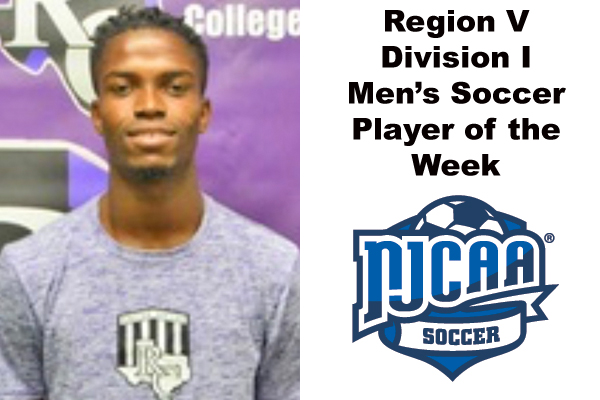 Region V Division I Men's Soccer Player of the Week