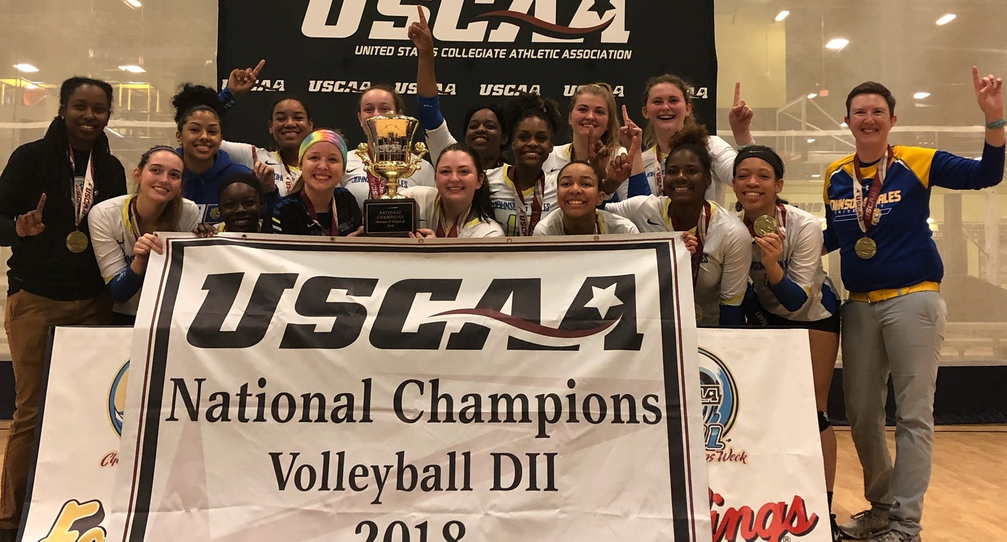 JWU Volleyball Claims National Championship