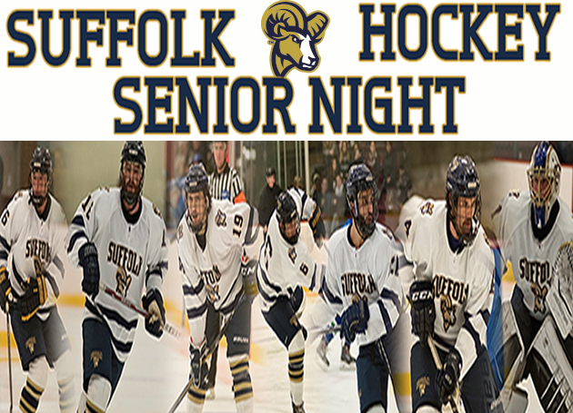 Hockey Salutes Graduating Class Saturday vs. Wentworth