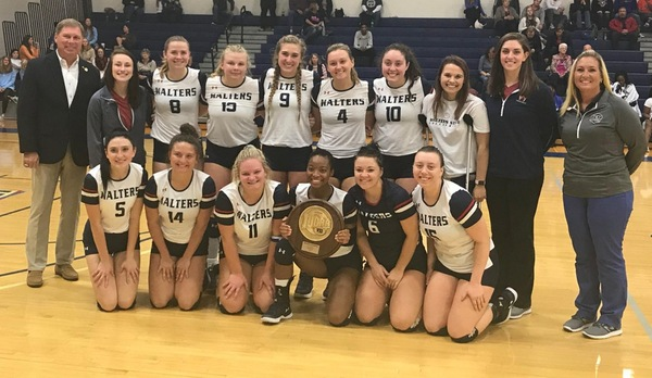 WALTERS STATE WINS REGION VOLLEYBALL CROWN