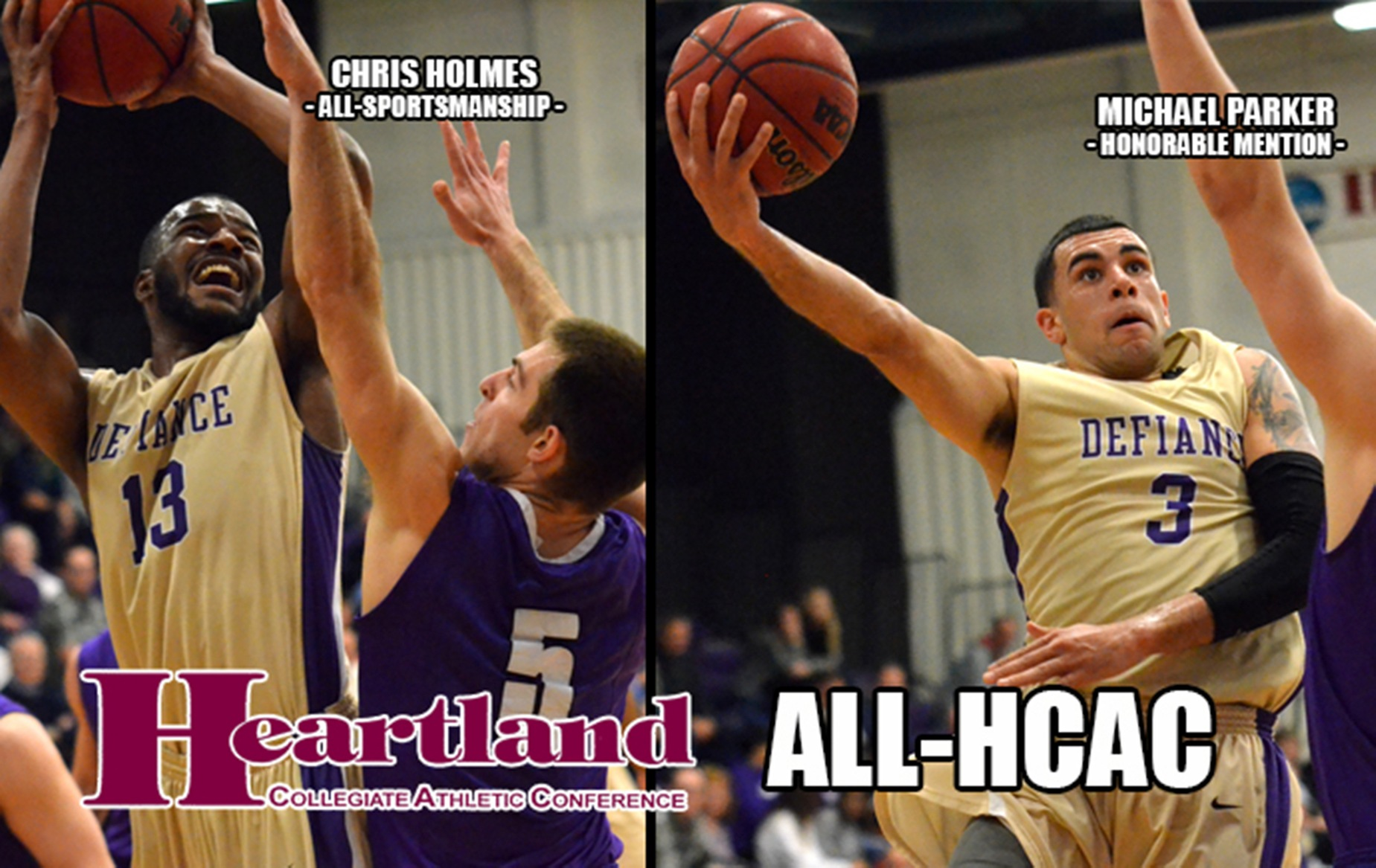 Parker Headlines All-HCAC Selections For Men's Basketball