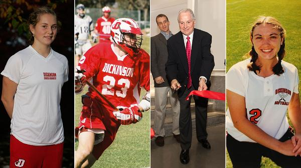 Dickinson College has announced the 2016 Athletic Hall of Fame class to be inducted during homecoming weekend, on Saturday, October 29th. Recently retired director of athletics, Les Poolman will be inducted, along with three outstanding former student-athletes. Classmates Emily Hulme '06 (Cross Country/Track & Field) and Brian Read '06 (Men's Lacrosse) will join Deb Wiediger-Strecker '00 (Softball). In addition, the 2005 women?s soccer team will also be honored