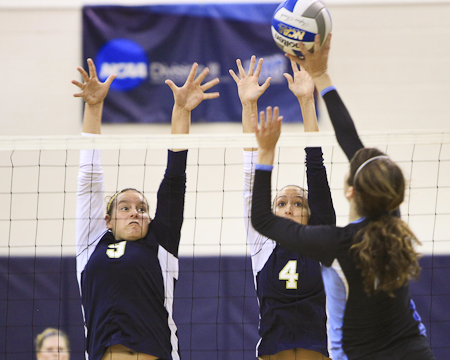 Jessica Israel named NEAC Women's Volleyball Defensive Student-Athlete of the Week
