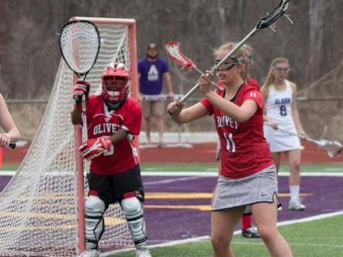 Women's lacrosse team doubled up at Alma, 20-10