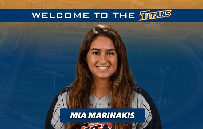 In the Dugout with Mia Marinakis